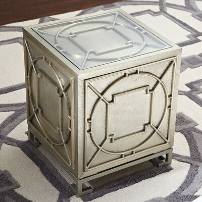Global Views Arabesque End Table