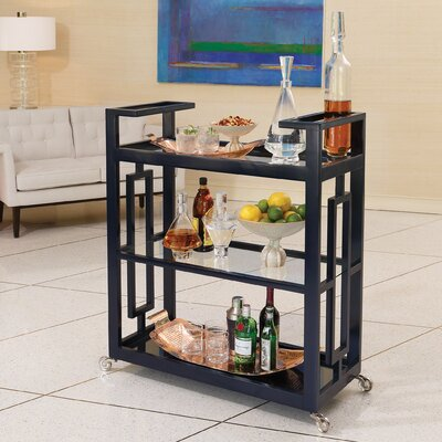 Global Views Grid Block Serving Cart Image