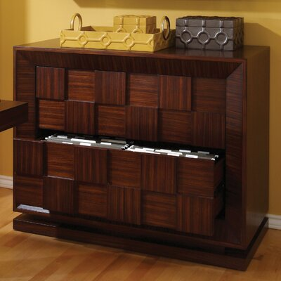 Global Views Block 2-Drawer  File Cabinet