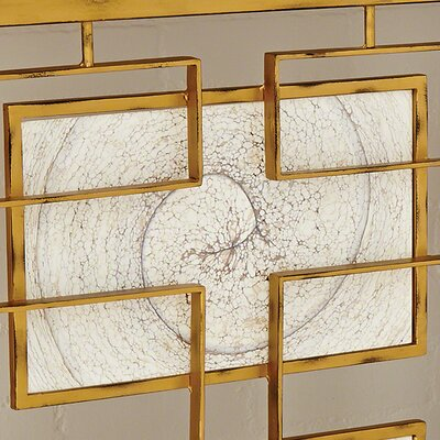 Mercer41 Leontine Opaline Glass Rectangles for the Open Block Console (Set of 4)