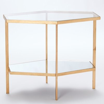 House of Hampton South Molton Hexagon End Table