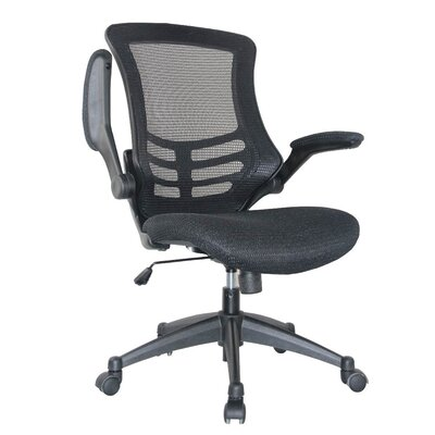 Manhattan Comfort High Back Mesh Conference Chair with Wheels