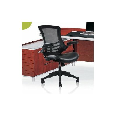 Manhattan Comfort Rugged High-Back Mesh Conference Chair with Wheels