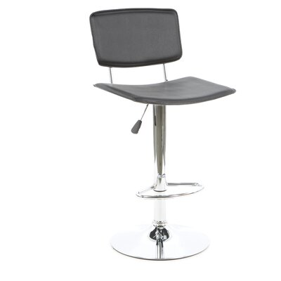 Latitude Run Adjustable Height Swivel Bar Stool