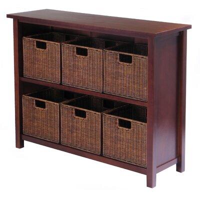 Winsome Milan Low Storage Shelf 30