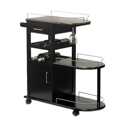 Winsome Serving Cart in Espresso