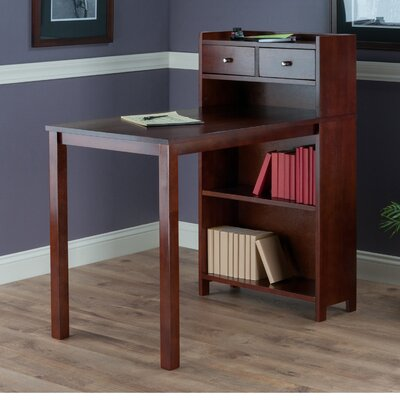 Latitude Run Mason Writing Desk with Stor..