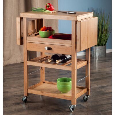 Red Barrel Studio Crumbley Serving Cart