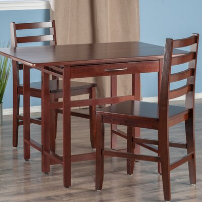Red Barrel Studio Culley 3 Piece Dining Set