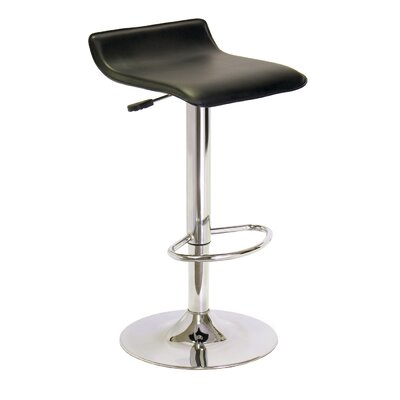 Winsome Spectrum Adjustable Height Swivel Bar Stool