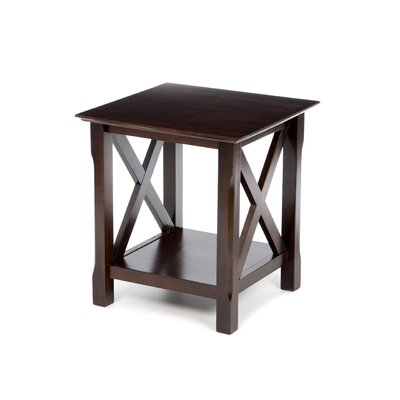 Charlton Home Toledo End Table