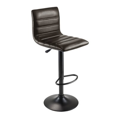 Winsome Holly Adjustable Height Swivel Bar Stool