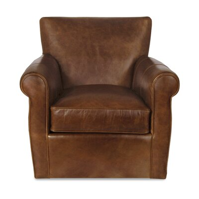 Bernhardt Vincent Leather Armchair