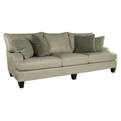 Bernhardt Brooke Leather Sofa