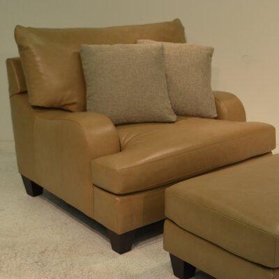 Bernhardt Brooke Leather Armchair