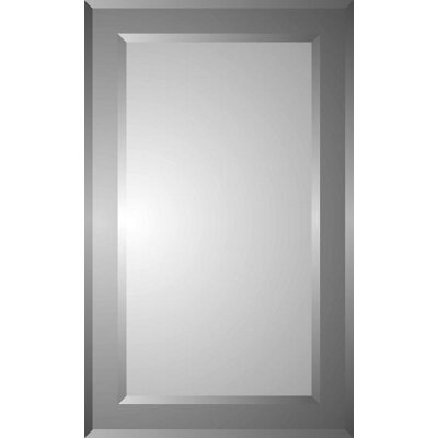 Zaca spacecab polaris 16 x 26 recessed beveled edge for Zaca bathroom cabinets