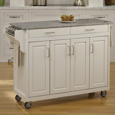 Home Styles Create-a-Cart Kitchen Island with Granite Top