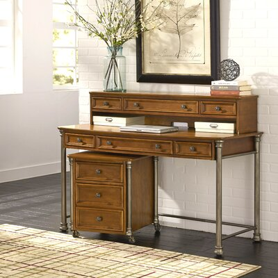 Red Barrel Studio Kibbe Computer Desk with Hutch