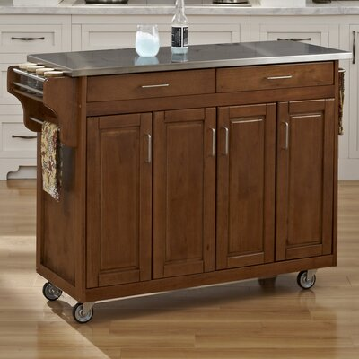 Home Styles Create-a-Cart Kitchen Island with St..