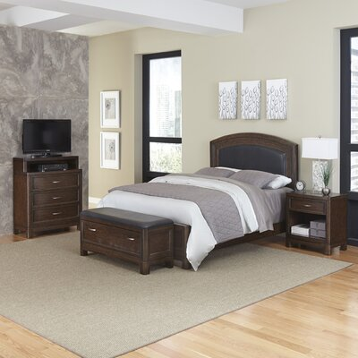 Home Styles Crescent Hill Panel 4 Piece Bedroom ..
