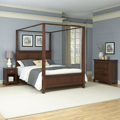 Chesapeake Canopy 3 Piece Bedroom Set