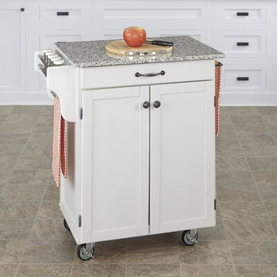 Home Styles Cuisine Kitchen Cart with Gra..