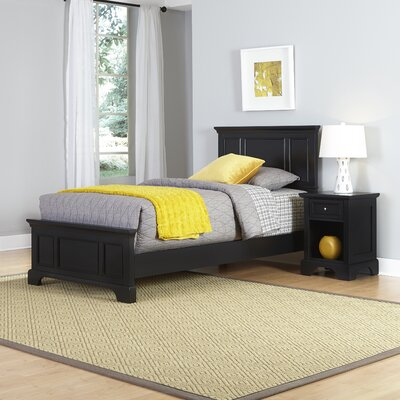 Home Styles Bedford Panel 2 Piece Bedroom Set