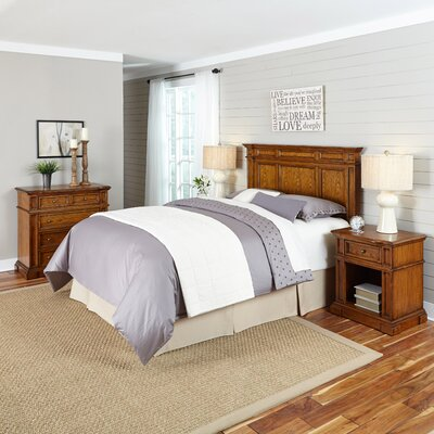 Home Styles Americana Platfrom  4 Piece Bedroom ..
