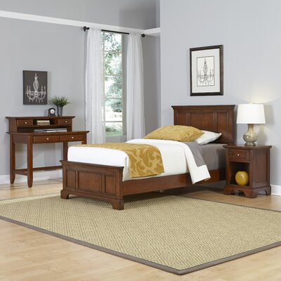 Home Styles Chesapeake Panel 4 Piece Bedroom Set