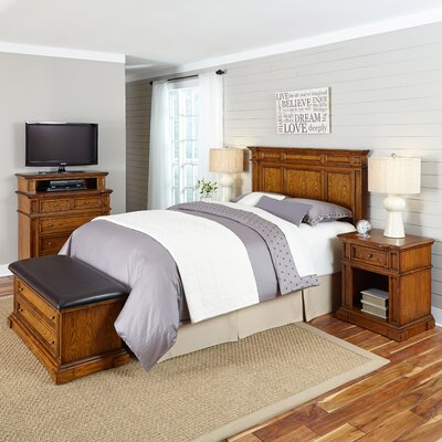 Home Styles Americana Platfrom 5 Piece Bedroom Set