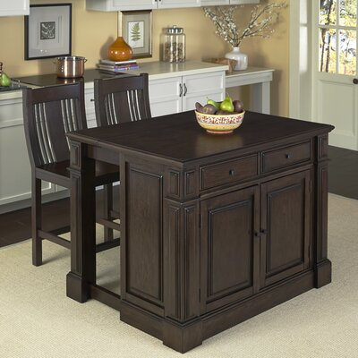 Home Styles Prairie Home 3 Piece Kitchen Island ..