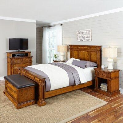 Home Styles Americana Panel 5 Piece Bedroom Set