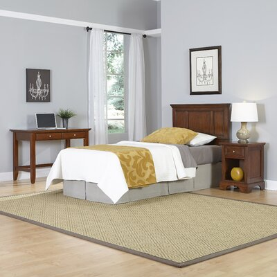 Home Styles Chesapeake Panel 3 Piece Bedroom Set