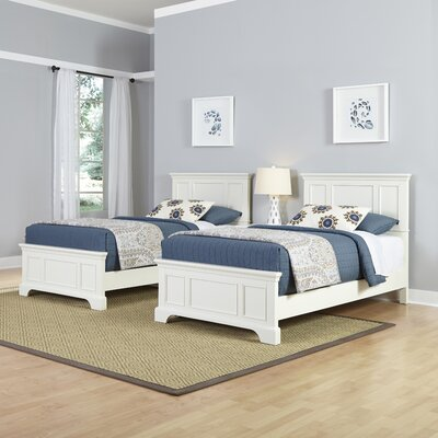 Home Styles Naples Panel 3 Piece Bedroom Set (Set of 2)