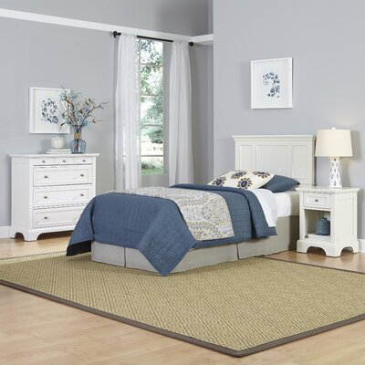 Home Styles Naples Panel 3 Piece Bedroom Set