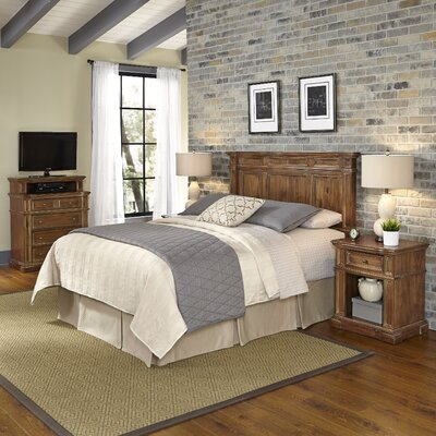 Home Styles Americana Vintage Panel 4 Piece Bedroom Set