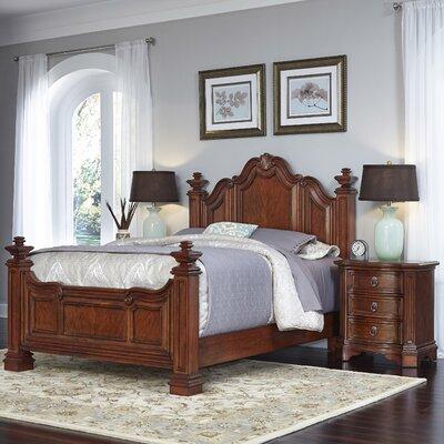 Home Styles Santiago Panel 3 Piece Bedroom Set