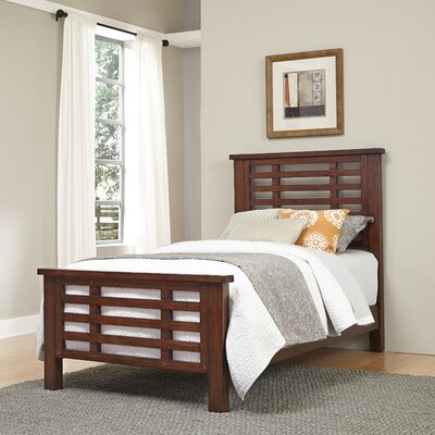 Loon Peak Rockvale Twin Slat Bed