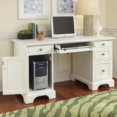 Home Styles Naples Computer Desk with Key..