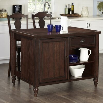 Home Styles Country Comfort Kitchen Island Set