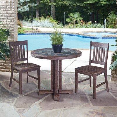 Home Styles Morocco 3 Piece Dining Set