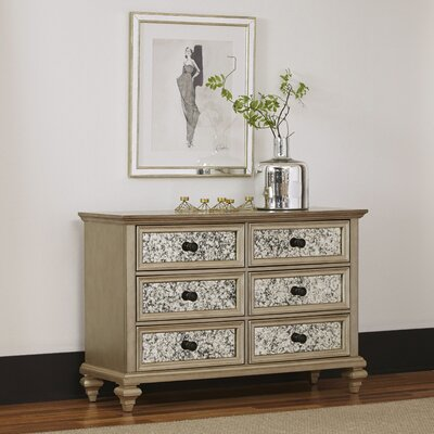 Home Styles Visions 6 Drawer Dresser