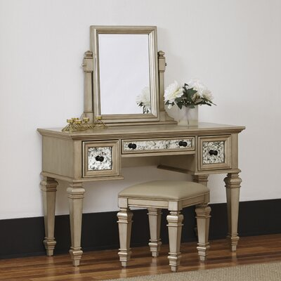Home Styles Visions Vanity Set with Mirror