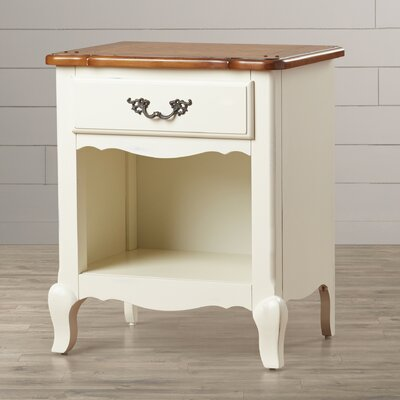 Home Styles French Countryside 1 Drawer Nightstand
