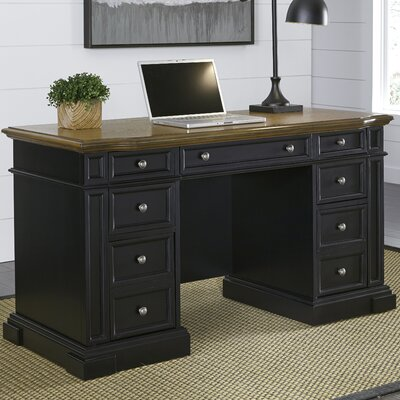 Home Styles Americana Pedestal Computer Desk