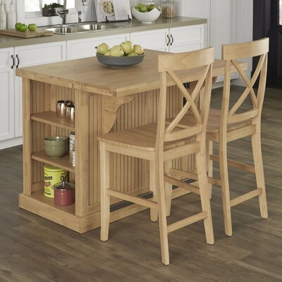 Home Styles Nantucket Kitchen Island Set