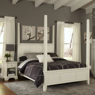 Home Styles Naples Four Poster 2 Piece Be..