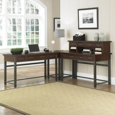 Loon Peak Rockvale Computer Desk with Keyboard Tray