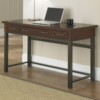 Loon Peak Rockvale Computer Desk with 1 Right & 1 Left Drawer