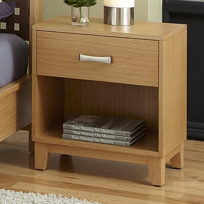 Home Styles Rave 1 Drawer Nightstand